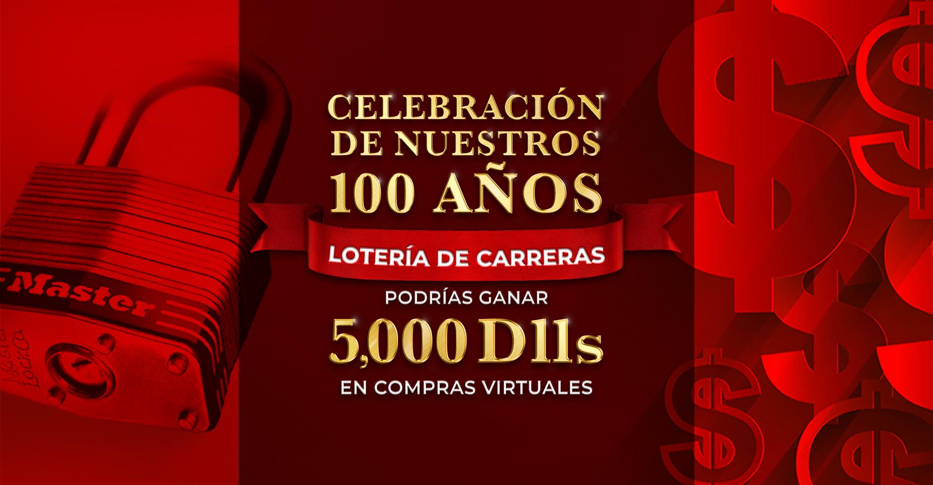 Sorteo de Celebración de los100 Años de Master Lock